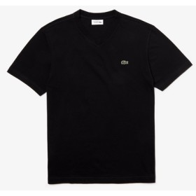 ワンポイントロゴテニスVネックTシャツ