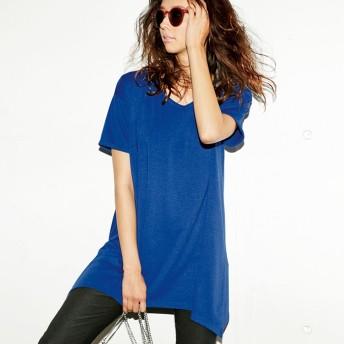 ベルーナ レディゆるシルエットTシャツ ブラック 3L レディースTシャツ 春 夏 トップス レディースファッション アパレル 通販 大きいサイズ コーデ 安い おしゃれ お洒落 30代 40代 50代 女性
