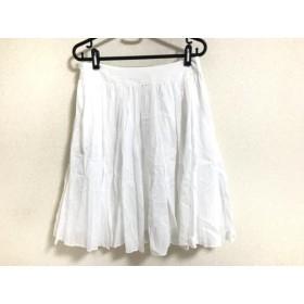 【中古】 ボディドレッシングデラックス BODY DRESSING Deluxe スカート サイズ38 M レディース 美品 白