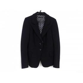 【中古】 マウジー moussy ジャケット サイズ2 M レディース 黒