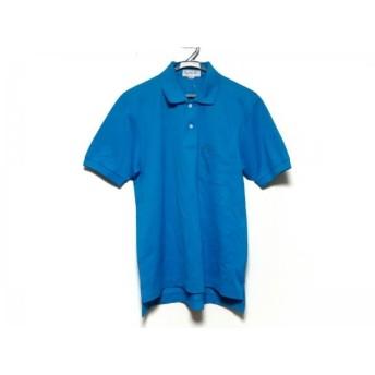 【中古】 バーバリーズ Burberry's 半袖ポロシャツ サイズM メンズ ライトブルー