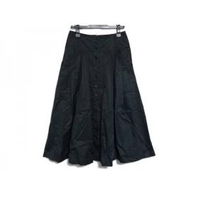 【中古】 レキップ ヨシエイナバ L'EQUIPE YOSHIE INABA スカート サイズ36 S レディース 黒