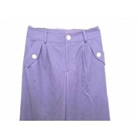 【中古】 ブルーレーベルクレストブリッジ BLUE LABEL CRESTBRIDGE パンツ サイズ38 M レディース 美品 黒