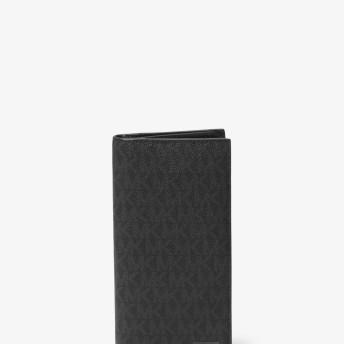 Michael Kors(マイケルコース) メンズ 財布・革小物 財布 MICHAEL KORS MEN'S JET SET MENS チェストポケット ウィズ コインケース ブラック NS