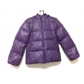 【中古】 バナーバレット BannerBarrett ダウンジャケット サイズ38 M レディース パープル 冬物