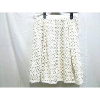 【中古】 ジャーナルスタンダード JOURNALSTANDARD スカート サイズ36 S レディース ホワイト