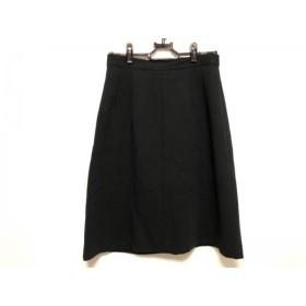 【中古】 バレンシアガ BALENCIAGA スカート サイズ38 M レディース 黒 Le Mode