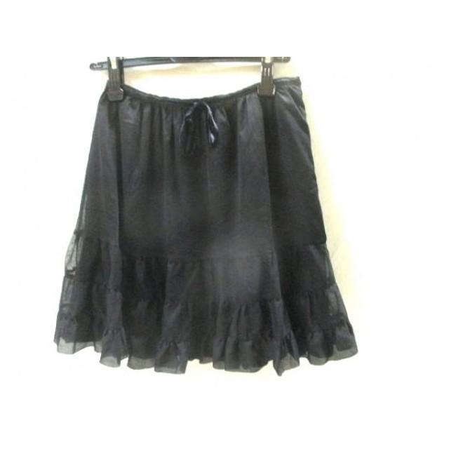 【中古】 イエナ IENA スカート サイズ38 M レディース 黒