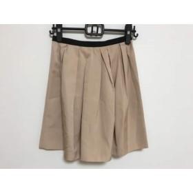 【中古】 グレースクラス Grace Class スカート サイズ36 S レディース ベージュ 黒