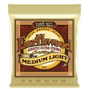 Ernie Ball Earthwood #2003 Medium Light 012-054 アーニーボール 80/20ブロンズ アコギ弦