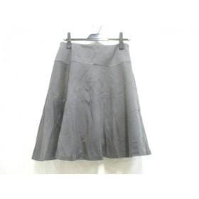 【中古】 ユナイテッドアローズ UNITED ARROWS スカート サイズM レディース ダークグレー