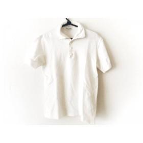 【中古】 ポールスミス PaulSmith 半袖ポロシャツ サイズM メンズ 白