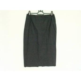 【中古】 ジェニー GENNY スカート サイズ40(I) M レディース 美品 ダークグレー