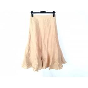 【中古】 ホコモモラ JOCOMOMOLA ロングスカート サイズ42 L レディース ベージュ