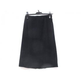 【中古】 シャレブラン ChaletBlanc スカート サイズ9 M レディース ネイビー