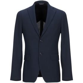 《期間限定セール中》CONTRADA ILLUMINATI メンズ テーラードジャケット ダークブルー 44 ポリエステル 55% / バージンウール 45%