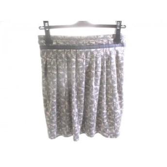 【中古】 アクアガール aquagirl ミニスカート サイズ38 M レディース グレー