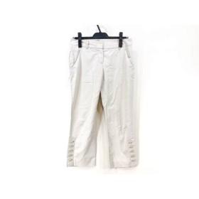 【中古】 セオリー theory パンツ サイズ2 S レディース ベージュ