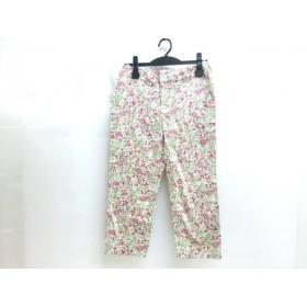 【中古】 ジャーナルスタンダード パンツ サイズ36 S レディース ベージュ グリーン ピンク