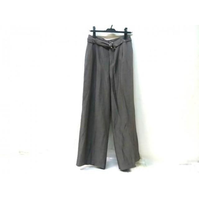 【中古】 ニューヨーカー NEW YORKER パンツ サイズ9 M レディース グレー