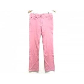 【中古】 ポールスミスジーンズ PaulSmithJEANS パンツ サイズ42 XL レディース ピンク