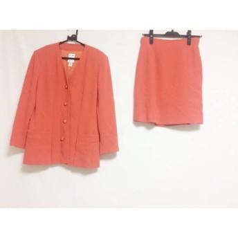 【中古】 セリーヌ CELINE スカートスーツ サイズ42 L レディース 美品 ピンク