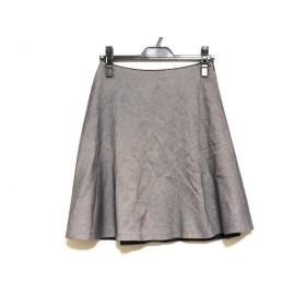 【中古】 トゥモローランド TOMORROWLAND スカート サイズ36 S レディース ダークネイビー 白