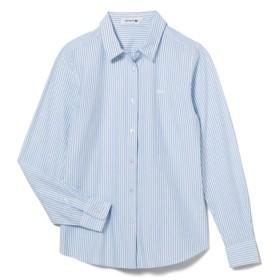 ストライプ カットソー シャツ (長袖)