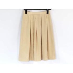 【中古】 キミジマ kimijima スカート サイズ38 M レディース ベージュ