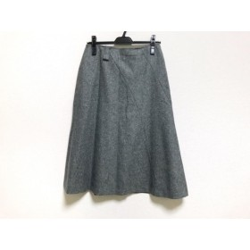 【中古】 スキャパ Scapa ロングスカート サイズ40 XL レディース グレー