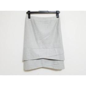 【中古】 ニジュウサンク 23区 スカート サイズ36 S レディース グレー
