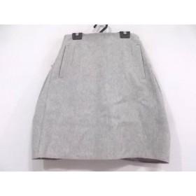 【中古】 カルヴェン CARVEN スカート サイズ38 M レディース ライトグレー