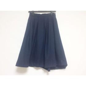 【中古】 ザ ヴァージニア The Virgnia スカート サイズ36 S レディース ネイビー