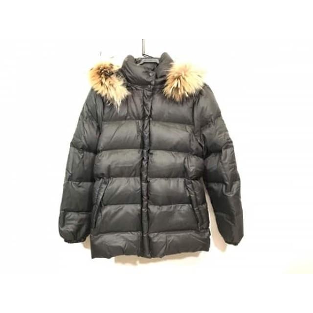 【中古】 モンクレール ダウンジャケット サイズ0 XS レディース バレンタイン 49353 ダークブラウン 冬物