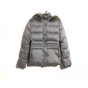 【中古】 イネド INED ダウンジャケット サイズ9 M レディース グレー 冬物