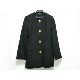 【中古】 レオナール LEONARD ジャケット サイズ9AR S レディース 黒