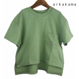 arkakama (アルカカマ) COLOR WIDE Tee  (S-L) 半袖Tシャツ
