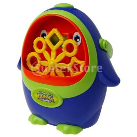 Perfeclan シャボン玉 ペンギン形 自動 バブルマシン バブルファンブロワー シャボン玉製造機 子ども贈り物 おもちゃ