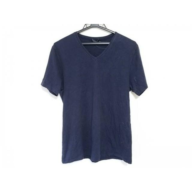 【中古】 セオリー theory 半袖Tシャツ サイズ42 L レディース 黒