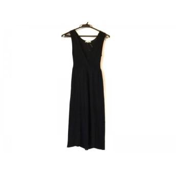 【中古】 ニジュウサンク 23区 ドレス サイズ32 XS レディース 美品 黒 ラメ