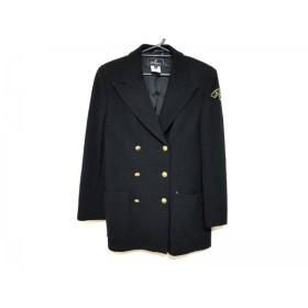 【中古】 レコパン LesCopains ジャケット サイズ44/3.M レディース 黒 肩パッド