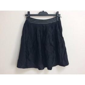 【中古】 ボディドレッシングデラックス BODY DRESSING Deluxe スカート サイズ36 S レディース 黒