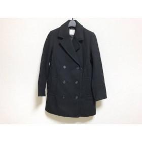 【中古】 スピック&スパン Spick & Span コート サイズ38 M レディース 黒 冬物