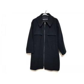 【中古】 ヨウジヤマモト yohjiyamamoto コート サイズ2 M レディース 美品 黒 冬物/+NOIR