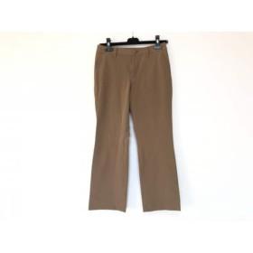 【中古】 イッセイミヤケ ISSEYMIYAKE パンツ サイズ1 S レディース ダークブラウン