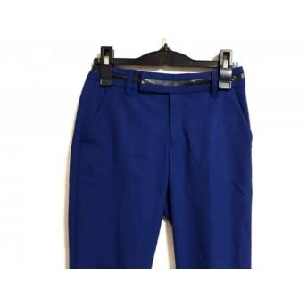 【中古】 ボディドレッシングデラックス BODY DRESSING Deluxe パンツ レディース ブルー 黒