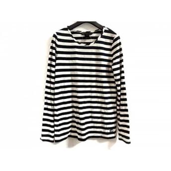 【中古】 マークバイマークジェイコブス 半袖Tシャツ サイズXS レディース 白 ネイビー ボーダー