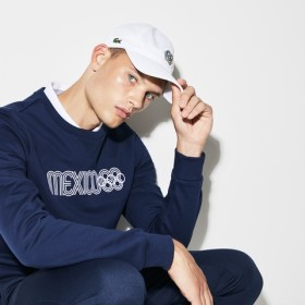 『Olympic Heritage Collection by Lacoste』ロゴキャップ