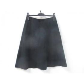【中古】 イエナ スローブ IENA SLOBE スカート サイズ確認できず レディース 黒