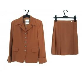 【中古】 ルーニィ LOUNIE スカートスーツ レディース ブラウン
